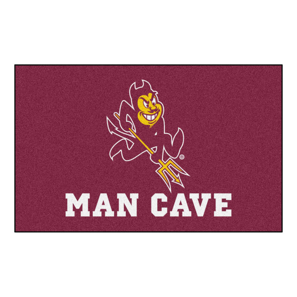 Arizona State Man Cave UltiMat Rug 5'x8' - FANMATS - Dropship Direct Wholesale