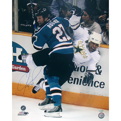 Jeremy Roenick San Jose Sharks Checking Vertical 16x20 Photo - Steiner Sports - Dropship Direct Wholesale