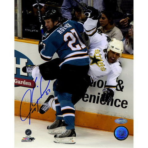 Jeremy Roenick San Jose Sharks Checking Vertical 8x10 Photo - Steiner Sports - Dropship Direct Wholesale