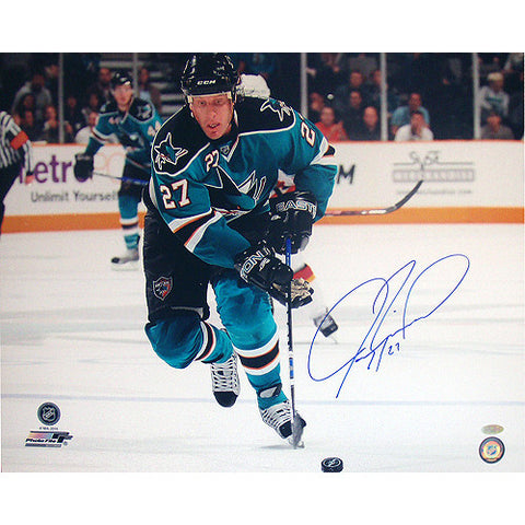 Jeremy Roenick San Jose Sharks Skating Up Ice Horizontal 16x20 Photo - Steiner Sports - Dropship Direct Wholesale