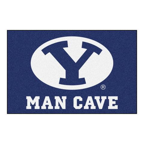 Brigham Young Man Cave Starter Rug 19x30 - FANMATS - Dropship Direct Wholesale