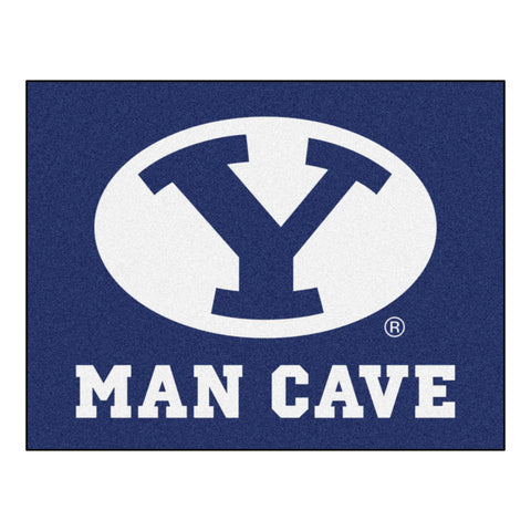 Brigham Young Man Cave All-Star Mat 33.75x42.5 - FANMATS - Dropship Direct Wholesale