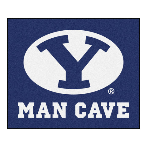 Brigham Young Man Cave Tailgater Rug 5x6 - FANMATS - Dropship Direct Wholesale