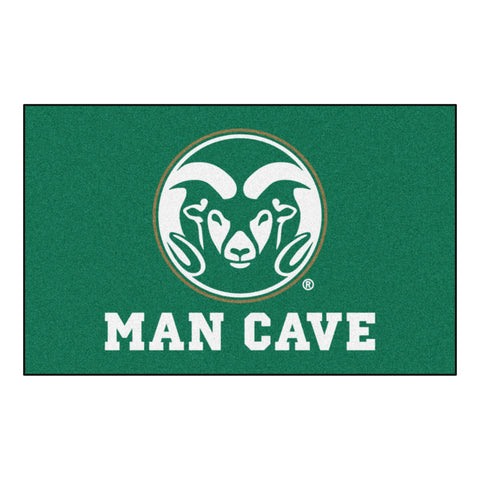 Colorado State Man Cave UltiMat Rug 5x8 - FANMATS - Dropship Direct Wholesale