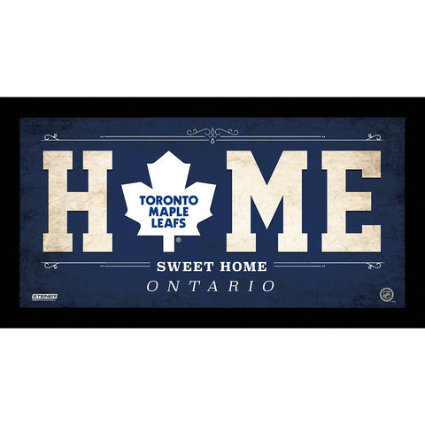 Toronto Maple Leafs 6x12 Home Sweet Home Sign - Steiner Sports - Dropship Direct Wholesale
