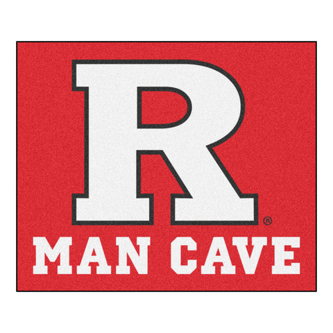 Rutgers Man Cave Tailgater Rug 5x6 - FANMATS - Dropship Direct Wholesale