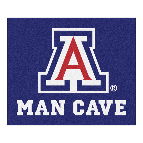 University of Arizona Man Cave Tailgater Rug 5x6 - FANMATS - Dropship Direct Wholesale