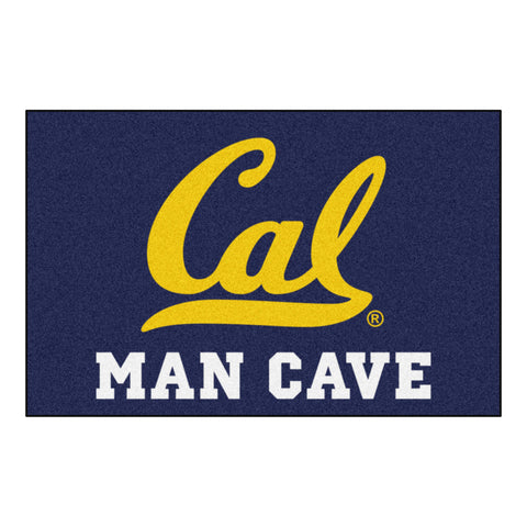 UC Berkeley Man Cave Starter Rug 19x30 - FANMATS - Dropship Direct Wholesale
