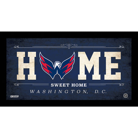 Washington Capitals 6x12 Home Sweet Home Sign - Steiner Sports - Dropship Direct Wholesale