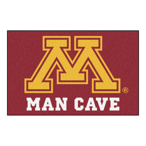 University of Minnesota Man Cave Starter Rug 19x30 - FANMATS - Dropship Direct Wholesale