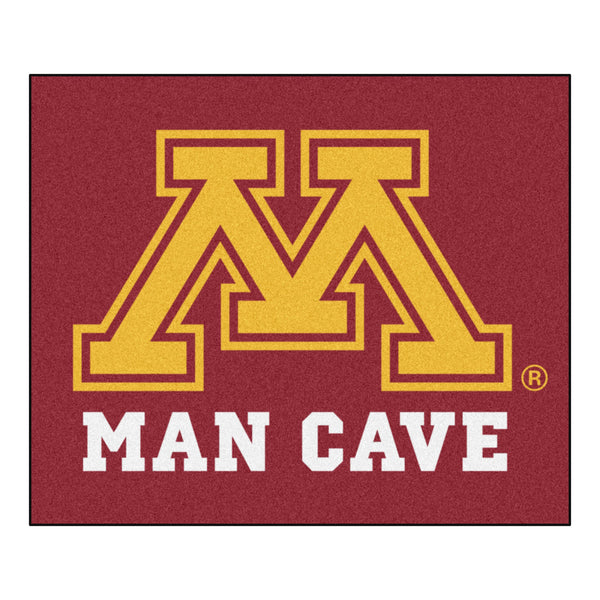 University of Minnesota Man Cave Tailgater Rug 5x6 - FANMATS - Dropship Direct Wholesale
