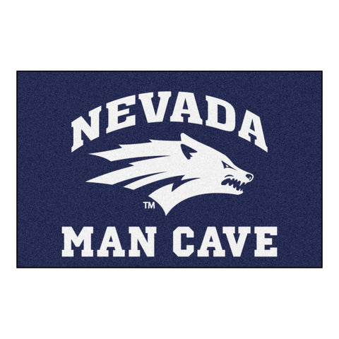 University of Nevada Man Cave Starter Rug 19x30 - FANMATS - Dropship Direct Wholesale
