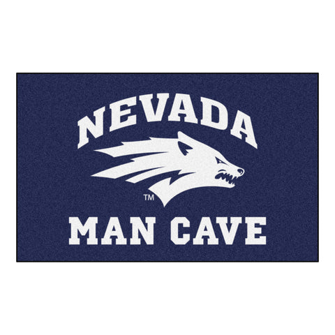 University of Nevada Man Cave UltiMat Rug 5x8 - FANMATS - Dropship Direct Wholesale