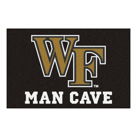Wake Forest Man Cave Starter Rug 19x30 - FANMATS - Dropship Direct Wholesale