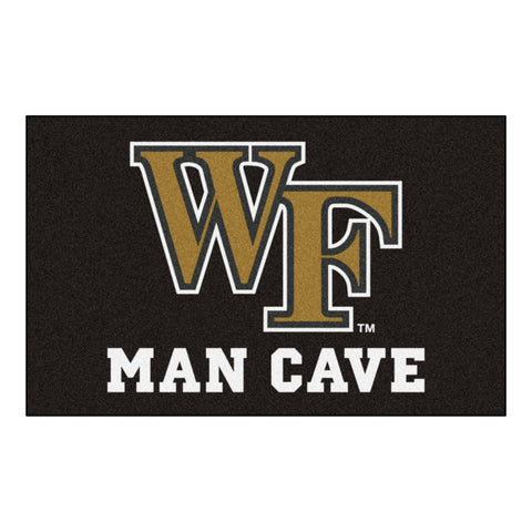 Wake Forest Man Cave UltiMat Rug 5x8 - FANMATS - Dropship Direct Wholesale