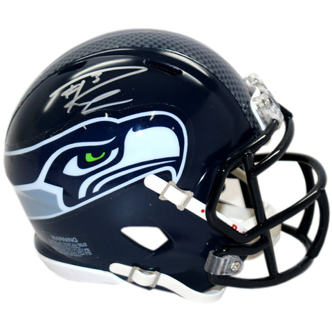 Russell Wilson Seattle Seahawks Signed Speed Mini-Helmet (Russell Wilson Auth) - Steiner Sports - Dropship Direct Wholesale