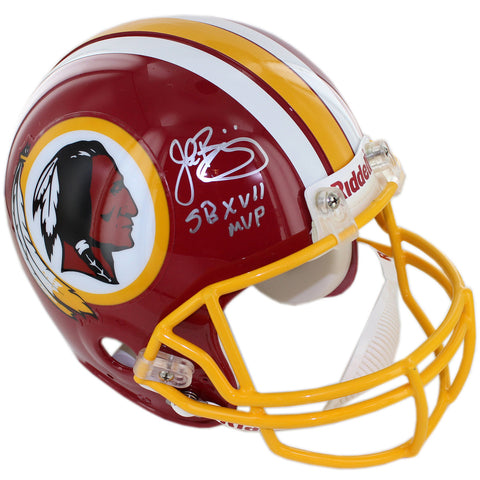 John Riggins Signed Washington Redskins Authentic 1982 Throwback Helmet w SB MVP insc. - Steiner Sports - Dropship Direct Wholesale