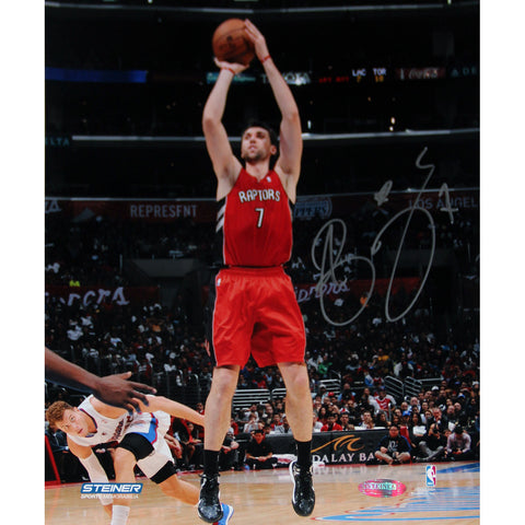 Andrea Bargnani Toronto Raptors Jump Shot Signed 8x10 Photo (Getty 158094072) - Steiner Sports - Dropship Direct Wholesale