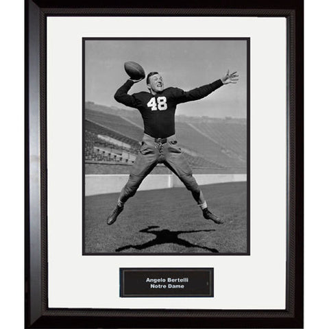Angelo Bertelli Notre Dame Portrait Framed 16x20 Photo - Steiner Sports - Dropship Direct Wholesale
