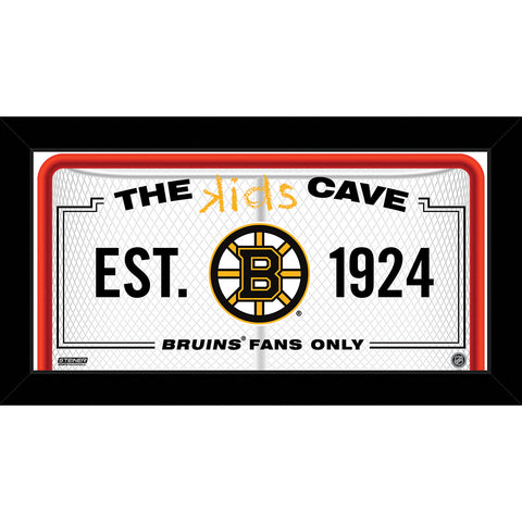 Boston Bruins 6x12 Kids Cave Sign - Steiner Sports - Dropship Direct Wholesale