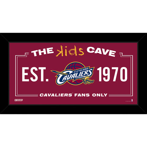 Cleveland Cavaliers 6x12 Kids Cave Sign - Steiner Sports - Dropship Direct Wholesale