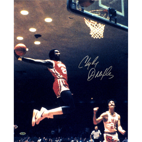 Clyde Drexler Air Dunk Signed 16x20 Photo (Getty 180318472) - Steiner Sports - Dropship Direct Wholesale