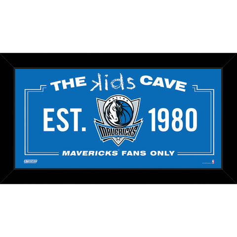 Dallas Mavericks 6x12 Kids Cave Sign - Steiner Sports - Dropship Direct Wholesale