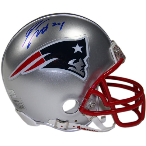 Darrelle Revis Signed New England Patriots Mini Helmet (New England Picture Auth) - Steiner Sports - Dropship Direct Wholesale