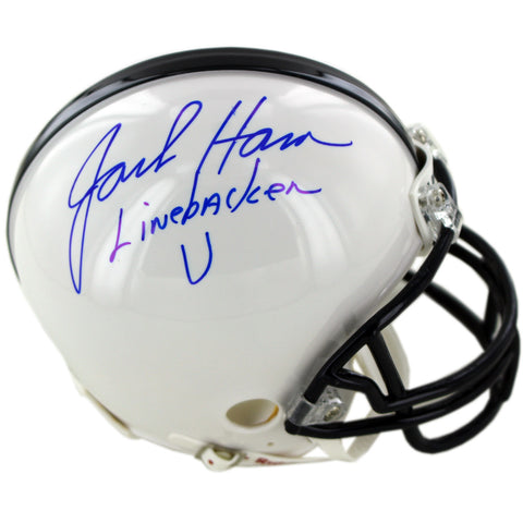 Jack Ham Signed Penn State Mini Helmet w Linebacker U Insc - Steiner Sports - Dropship Direct Wholesale