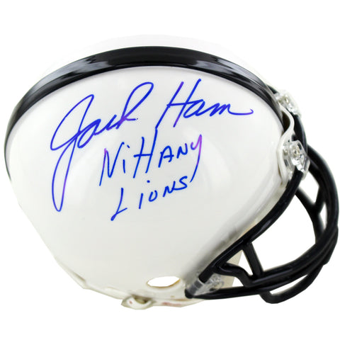 Jack Ham Signed Penn State Mini Helmet w Nittany LionsInsc. - Steiner Sports - Dropship Direct Wholesale