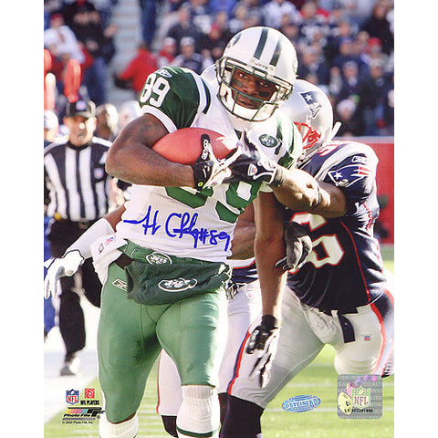 Jerricho Cotchery Catch and Run vs Patriots Vertical 8x10 Photo - Steiner Sports - Dropship Direct Wholesale