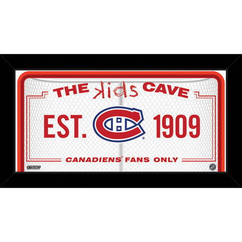 Montreal Canadiens 6x12 Kids Cave Sign - Steiner Sports - Dropship Direct Wholesale