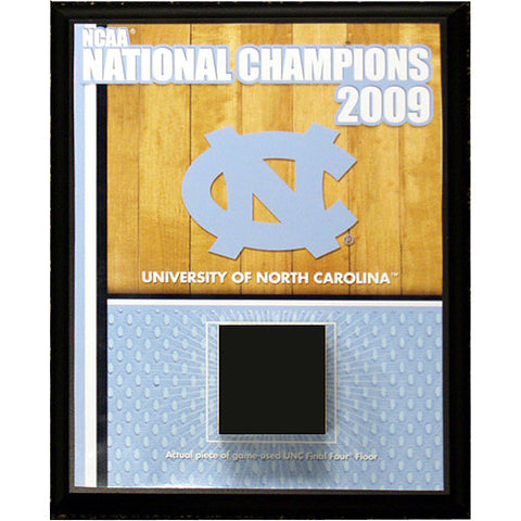 North Carolina Championship Court 8x10 Plaque (Black) - Steiner Sports - Dropship Direct Wholesale