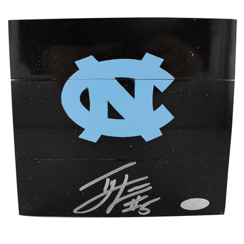 Ty Lawson Autographed 6x6 Square of Black UNC Final Four Championship Court - Steiner Sports - Dropship Direct Wholesale