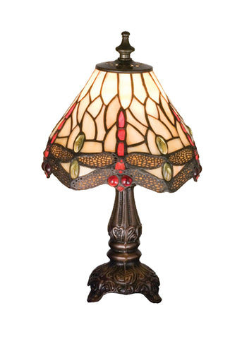 11.5 Inch H Tiffany Hanginghead Dragonfly Mini Lamp - Meyda - Dropship Direct Wholesale