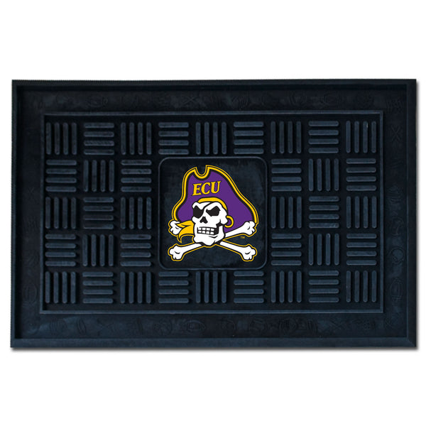 East Carolina University Medallion Door Mat - FANMATS - Dropship Direct Wholesale