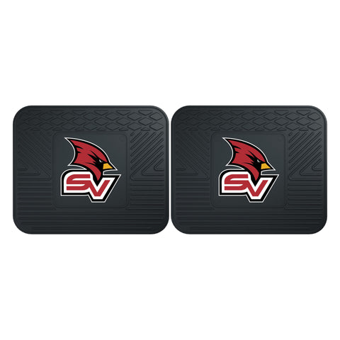 Saginaw Valley State Backseat Utility Mats 2 Pack 14x17 - FANMATS - Dropship Direct Wholesale
