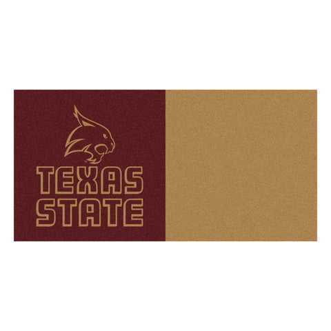 Texas State Carpet Tiles 18x18 tiles - FANMATS - Dropship Direct Wholesale