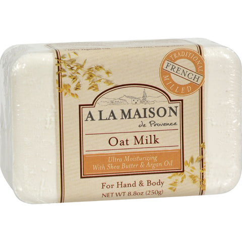 A La Maison Bar Soap Oat Milk - 8.8 oz - A La Maison - Dropship Direct Wholesale - 1
