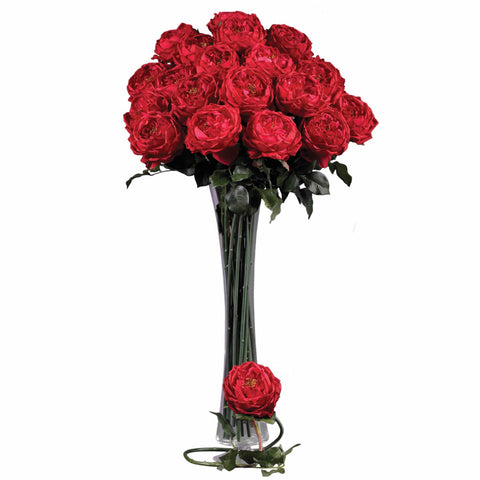 31in Large Rose Stem (Set of 12) - Nearly Natural - Dropship Direct Wholesale