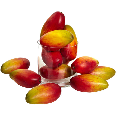 5.5in Weighted Faux Mango (Set of 12) - Nearly Natural - Dropship Direct Wholesale