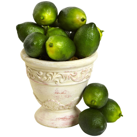 Faux Limes (Set of 12) - Nearly Natural - Dropship Direct Wholesale