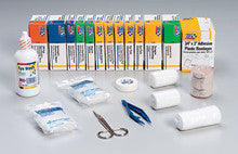 196 piece refill for bulk 50 person first aid kits: 225-U & 226-U- 1 ea. - First Aid Only - Dropship Direct Wholesale