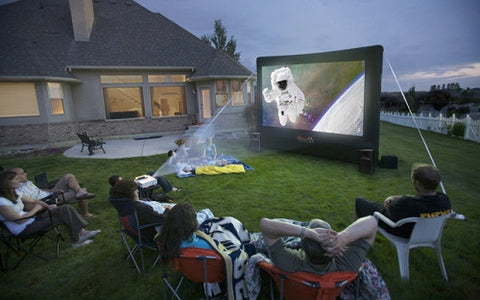 Open Air Outdoor Home Projector Screen 12x7 - OpenAir Cinema - Dropship Direct Wholesale