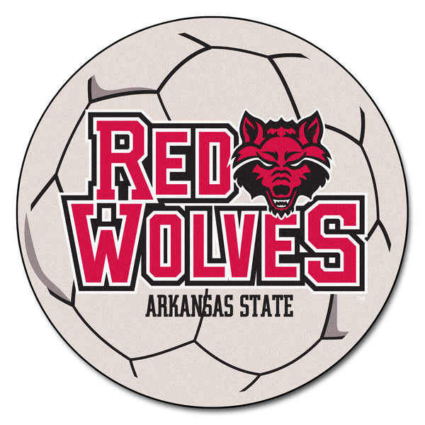 Arkansas State Soccer Ball - FANMATS - Dropship Direct Wholesale