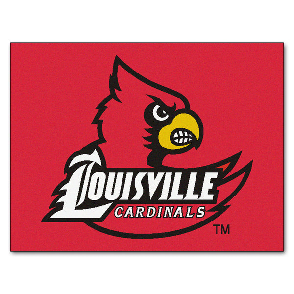 University of Louisville All-Star Mat 33.75x42.5 - FANMATS - Dropship Direct Wholesale