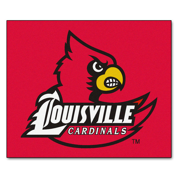 University of Louisville Tailgater Rug 5x6 - FANMATS - Dropship Direct Wholesale