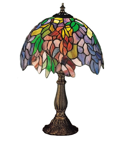 15.5 Inch H Tiffany Laburnum Accent Lamp - Meyda - Dropship Direct Wholesale