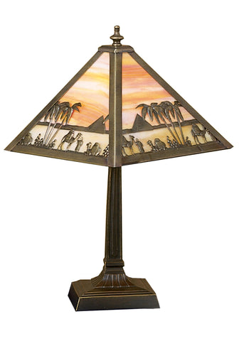 10 Inch H Camel Mission Accent Lamp - Meyda - Dropship Direct Wholesale