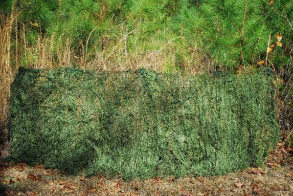Ghillie Paintball Ultra Light Synthetic Folding Blind Cover and Bag Leafy Green - GhillieSuits - Dropship Direct Wholesale